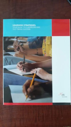 NEW Learning strategies ATI testing book for Sale in Ann Arbor, MI
