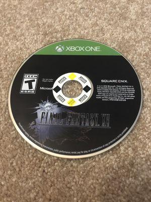 Final Fantasy XV - Xbox One for Sale in Ashburn, VA