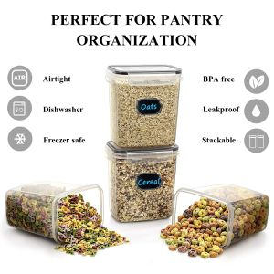 Airtight Food Storage Containers, Set of 16 [54oz /1.6L] for Sale in Los Angeles, CA