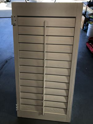Shutter Height is 23 7/8 by 24 inches Width for Sale in City of Industry, CA