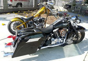 2006 road king and a chopper ! for Sale in Baldwin Park, CA