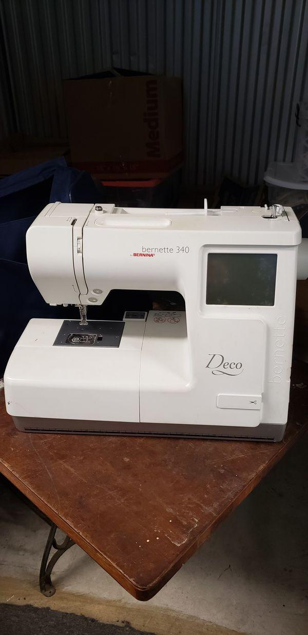 Bernette 340 Deco Embroidery Machine