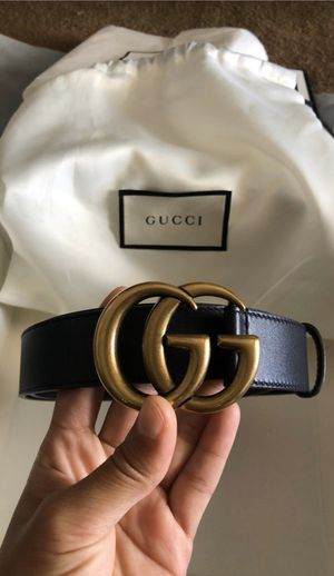 *Read Description* Gucci leather Belt 90•36 double G buckle for Sale in Westminster, CA