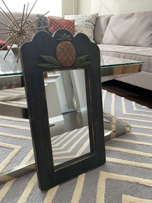 Rustic / Antique Framed Hanging Mirror for Sale in Lisle, IL