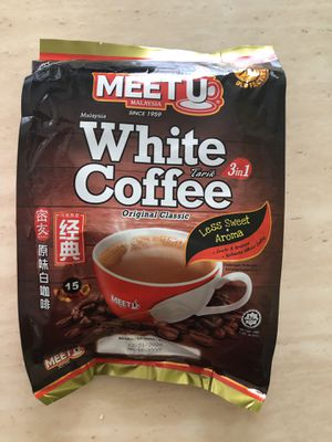 Meet U Malacca 3 In 1 WHITE Coffee for Sale for sale  Philadelphia, PA