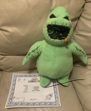 Disney Build A Bear Nightmare Before Christmas Oogie Boogie with Sound for Sale in Chicago, IL