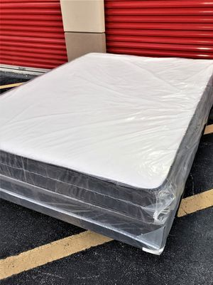 NEW QUEEN MATTRESS AND BOX SPRING_2PC 😉 for Sale in Lake Worth, FL