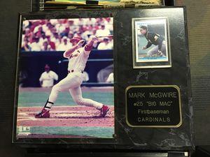 Mark McGwire plaque for Sale in St. Louis, MO