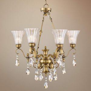 Antique brass chandelier for Sale in Orange, CA