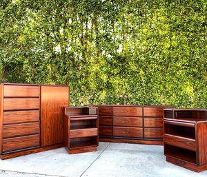 Mid century Brouer Denmark Brazilian rosewood bedroom set for Sale in Los Angeles, CA