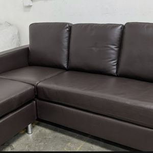 Brown 3 Seat Sectional for Sale in Chino, CA