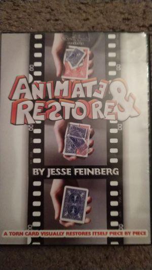 MAGIC TRICK DVD - Animate & Restore for Sale in Monrovia, CA