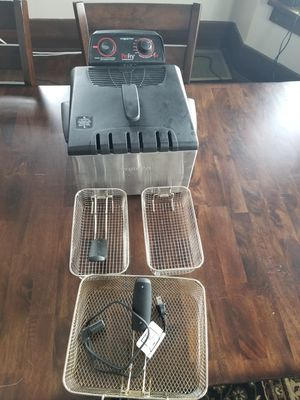 Presto ProFry Deep Fryer for Sale in Sioux City, IA