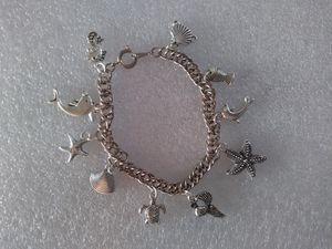 Vintage S.S. Ocean/Sea Animals Charm Bracelet for Sale in Denver, CO