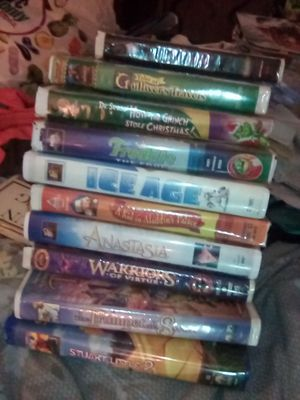 VCR Movies 10 total for Sale in Las Vegas, NV