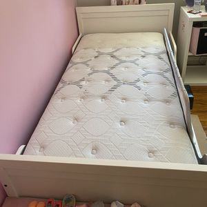 Twin Bed Frame and A Twin Mattress for Sale in Rancho Santa Fe, CA