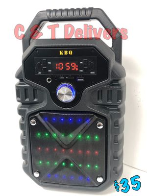 Portable - Loud - Rechargeable - 36 LED Lights • Bluetooth Speaker • New In Box 💥 Mucho Party for Sale in Gardena, CA