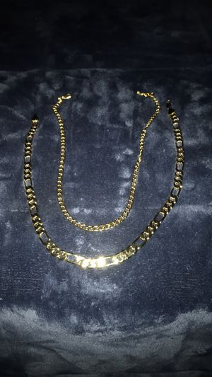 Gold filled chains 22 inches for Sale in Gresham, OR
