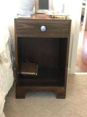 Antique bedside tables - Set of 2 for Sale in Charlottesville, VA