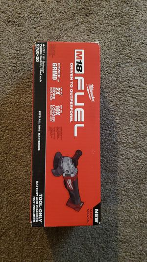 Milwaukee m18 grinder for Sale in Renton, WA