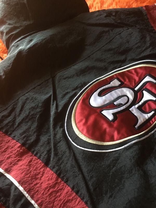 49ers starter jacket large