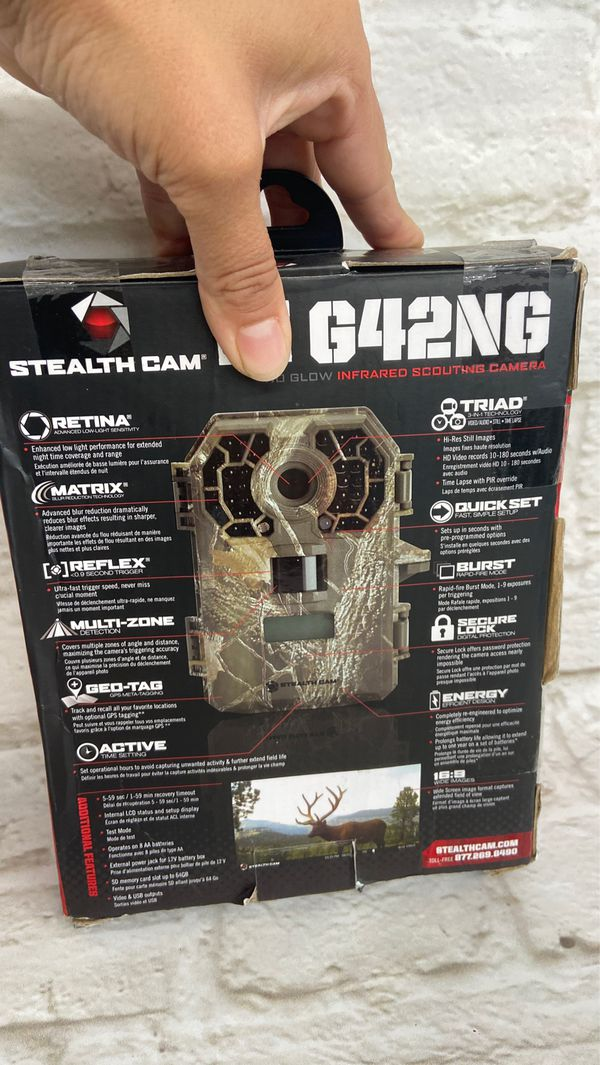 Stealth Cam G42NG scouting camera