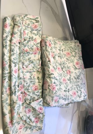 Twin Girls Fitted/Flat/ruffled standard pillow case for Sale in Marshfield, MA