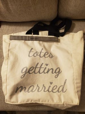 Brides totes bag! Large in size. for Sale in Carlsbad, CA