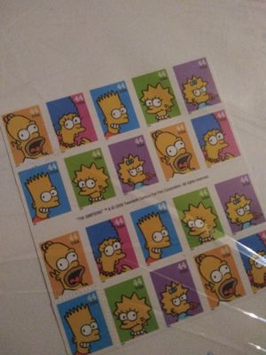 Simpsons stamps for Sale in Aurora, CO
