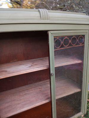 Antique display cabinet for Sale in Flemington, NJ