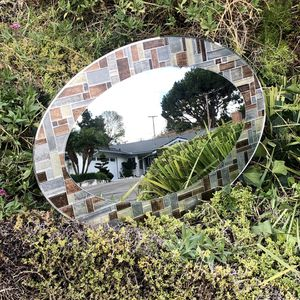 "Home House Bathroom Oval Reflective Mirror ""New"" for Sale in Monterey Park, CA"