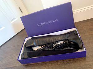 Stuart Weitzman Fringe Over the Knee Leather Boot for Sale in West Palm Beach, FL