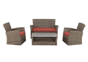 4pcs Outdoor Patio Furniture Set for Sale in Rowland Heights, CA