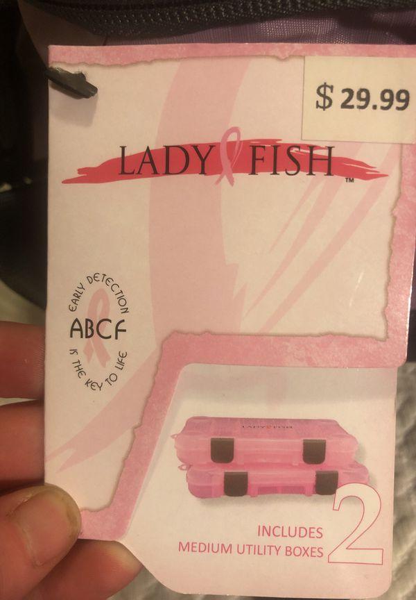 Lady Fish tackle box