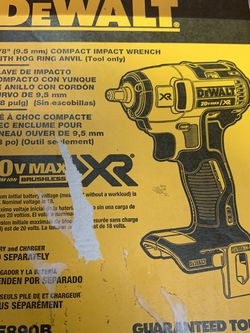 DEWALT XR 20-Volt Max Variable Speed Brushless Drive Cordless Impact Wrench for Sale in Miami,  FL