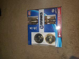 Brinks keyed entry and deadbolt doorknob for Sale in Spring Valley, CA