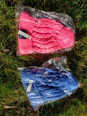 Bluetooth pink or blue beanie/winter hat $20 each hat for Sale in Port Orchard, WA