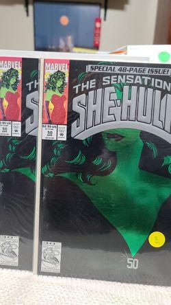 Marvel Comic The Sensational She-Hulk for Sale in Albuquerque,  NM