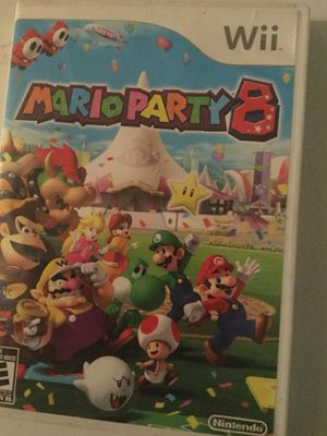 Mario party 8 for the Wii for Sale in San Antonio, TX
