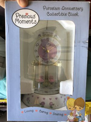 Precious Moments Porcelain Collectable Clock for Sale in Corona, CA