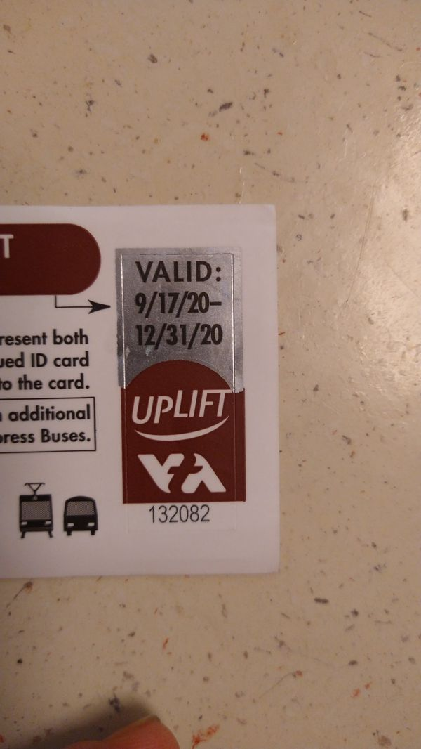Vta good from 9/17- 12/31 three months unlimited