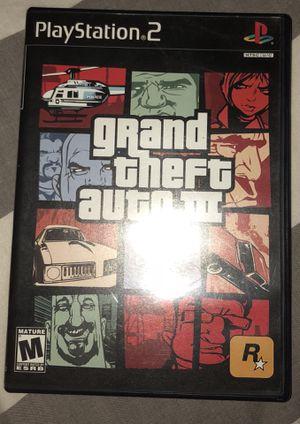 Grand Theft Auto III for Sale in Bloomington, IL