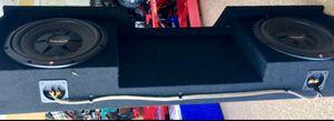 DVC 2 SUBWOOFER IN BOX 12in / NISSAN TITAN ARMADA for Sale in Orlando, FL