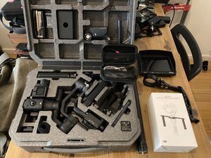 DJI Ronin S with most of the available accessories for Sale in Los Angeles, CA