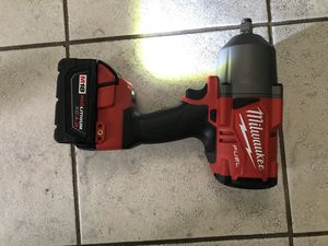 Milwaukee impact wrench 1/2 1,200 pound power for Sale in Laurel, MD