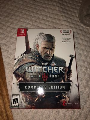 Nintendo Switch Witcher 3 for Sale in Stockton, CA