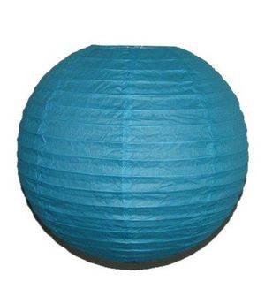 """Wholesale Lot 24 Pack - Party Paper Lantern-Round 12""""-Luau Supplies- Oriental/Chinese Lamps - Aqua for Sale in Kissimmee, FL"""