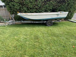 13' Boston Whaler with trailer for Sale in Point Lookout, NY