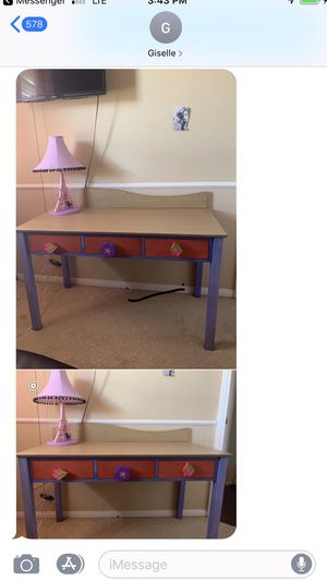 Brand new desk with lamp for Sale in Chula Vista, CA