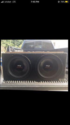 "2 15"" Pyle Subwoofers for Sale in San Bernardino, CA"
